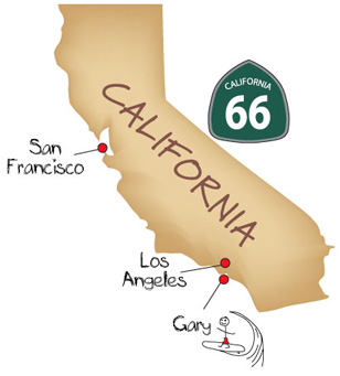 Coolcampers California Map
