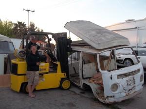 van loading 2