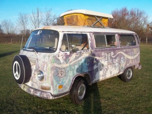 vw camper early bay sundial for sale hippy bus image