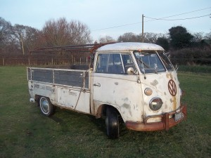 vw splitscreen pickup 1966 for sale image